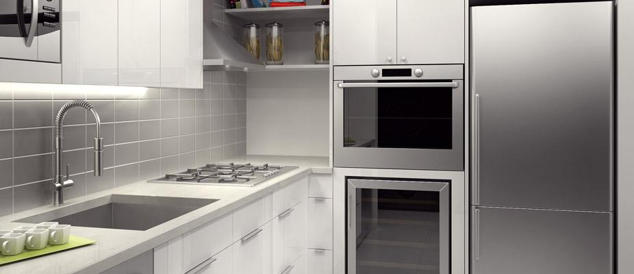 Kitchen and Mantena - 431 West 37 Street apartment rentals