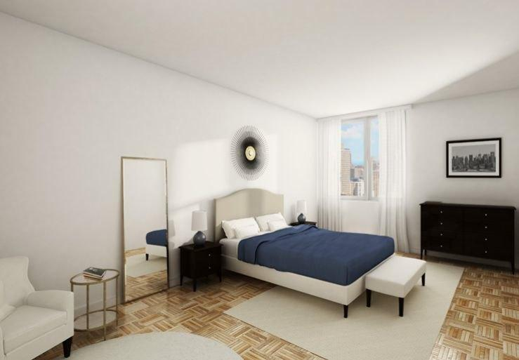 100 Gateway Plaza Apartment Bedroom