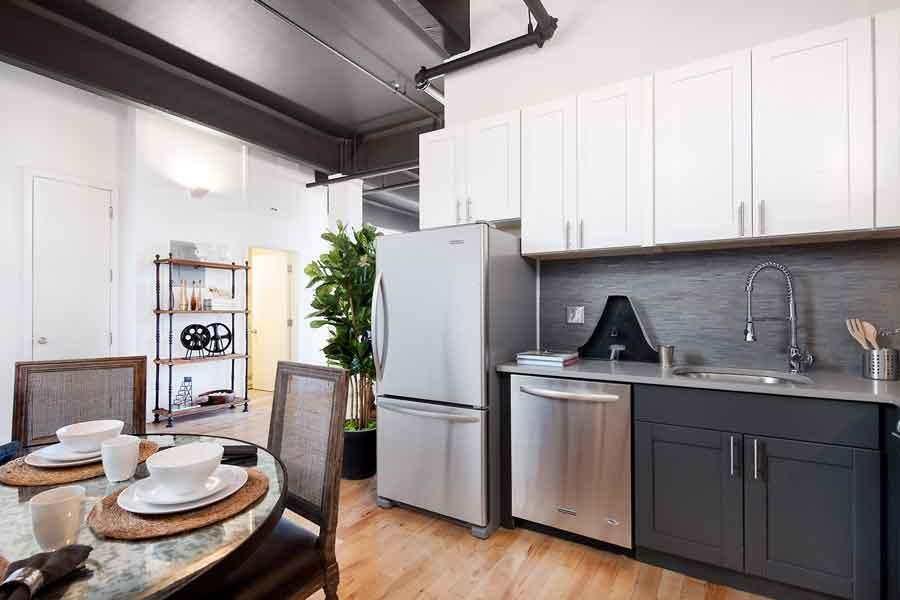 Condos for rent at 100 South 4th Street in NYC - Kitchen