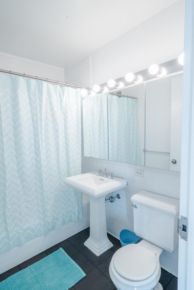 101 West End Avenue Marble Bathroom - Manhattan Rental Apartments