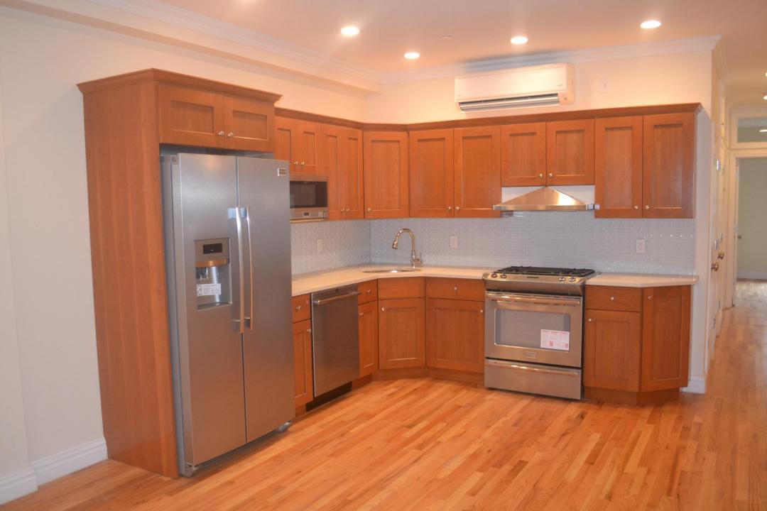 Open Kitchen at 105-107 Saint Marks Place in NYC