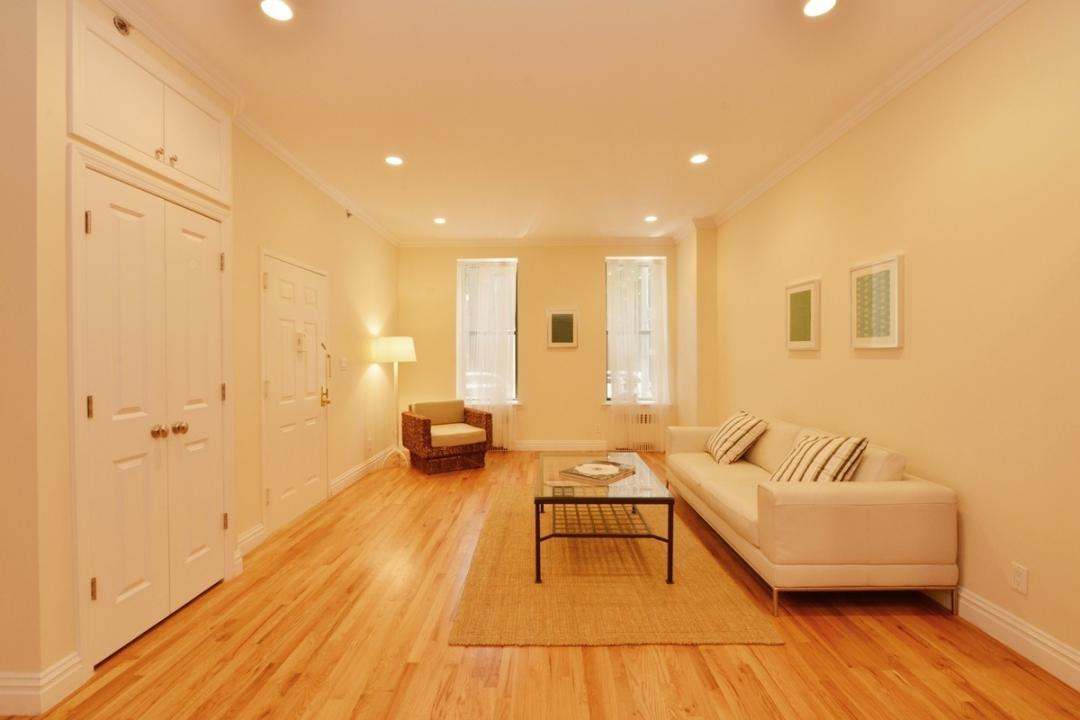 Livingroom at 105-107 Saint Marks Place in Manhattan - Condos for rent