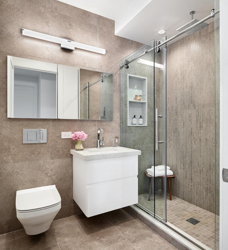 Bathroom at Graffiti House in NYC - Condos for rent