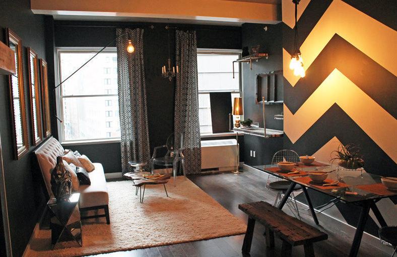 116 John Street New York - Manhattan Rentals - Living Room NYC