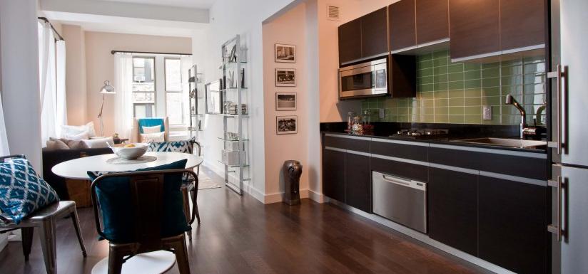 116 John Street New York - Manhattan Rentals - Kitchen