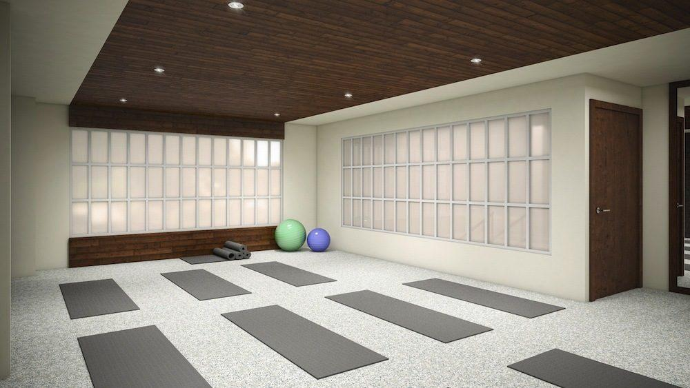 Yoga Studio at 200 East 11th Street in East Village - Apartments for rent
