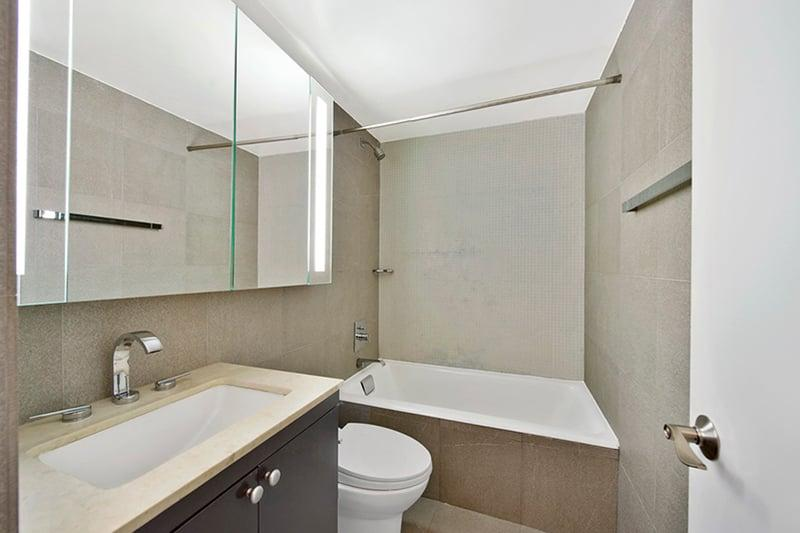 Rentals at 120 West 23rd Street in Manhattan - Bathroom