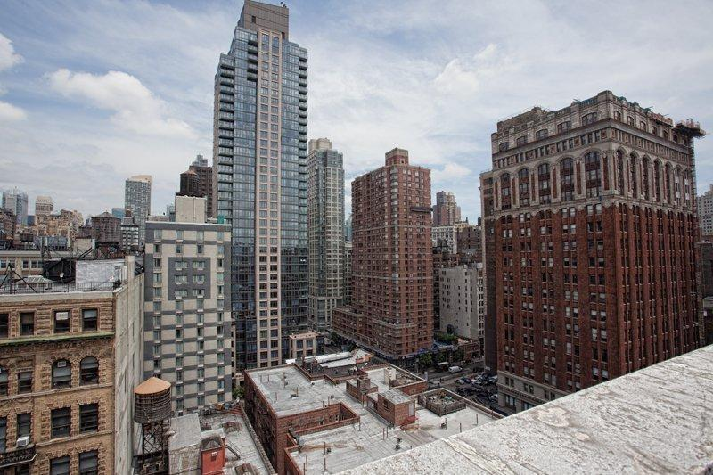 Stunning view from 120 West 23rd Street in Chelsea