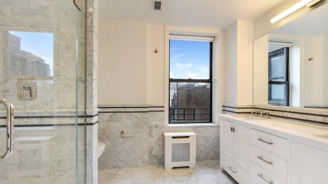 Bathroom at 125 Riverside Drive in Manhattan
