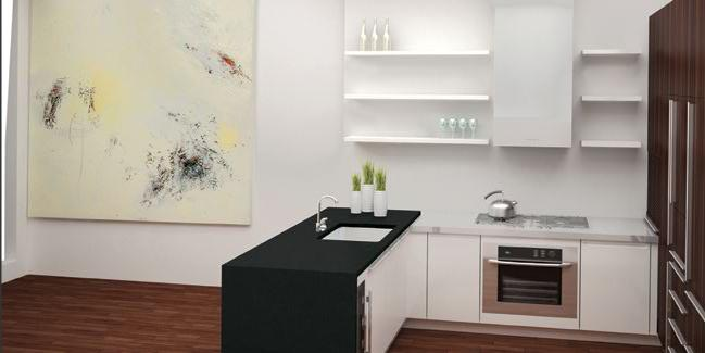 133 West 22nd Street Kitchen - NYC Condos for Sale