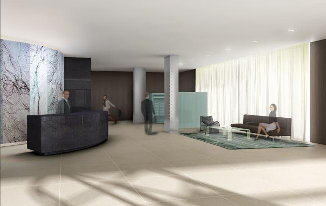 133 West 22nd Street Lobby - Chelsea NYC Condominiums