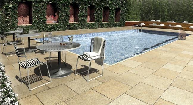 133 West 22nd Street Condominiums - Outdoor Pool