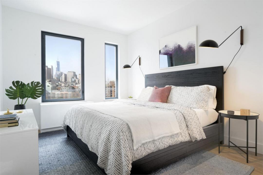 Bedroom at The Rollins in NYC - Apartments for rent