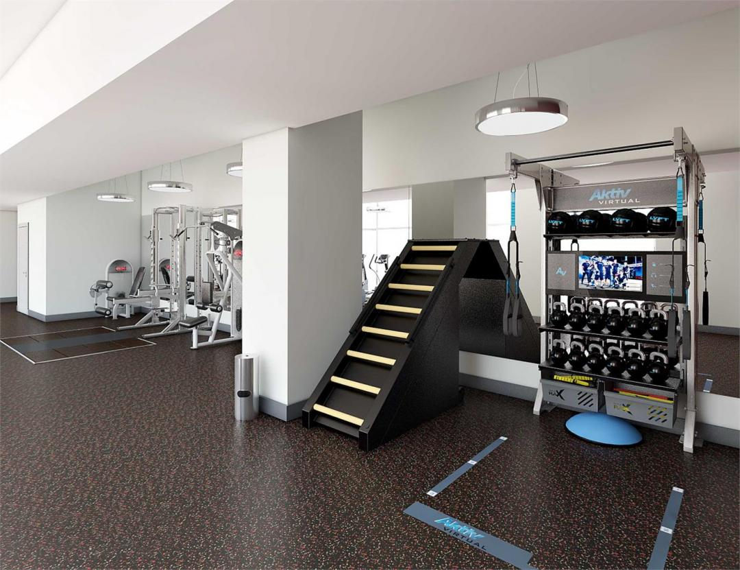 Apartments for rent at 145 Clinton Street in Lower East Side - Fitness Center