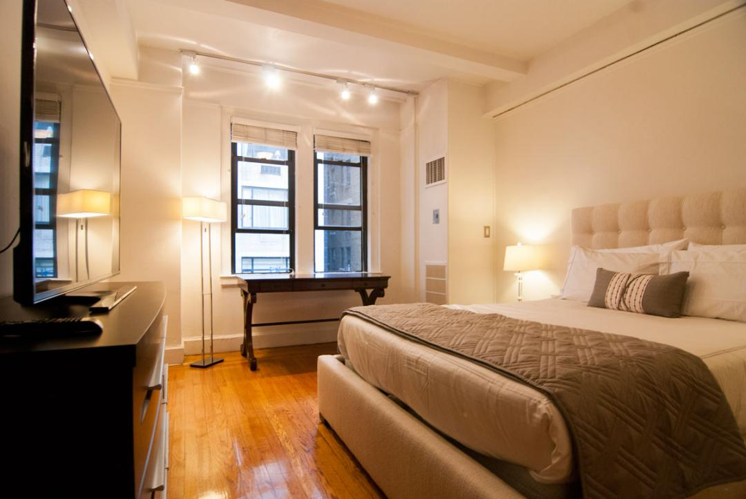 Condos for rent at 145 West 58th Street in Manhattan - Bedroom
