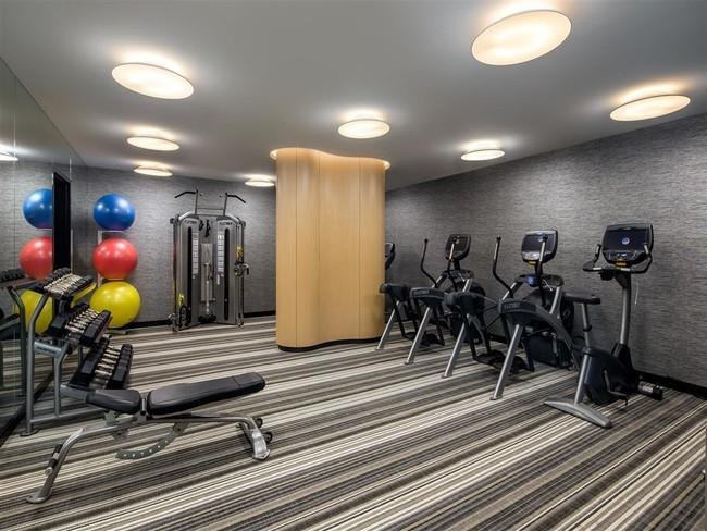 Wide variety of amenities at Cliff Tower in Manhattan - Fitness Center