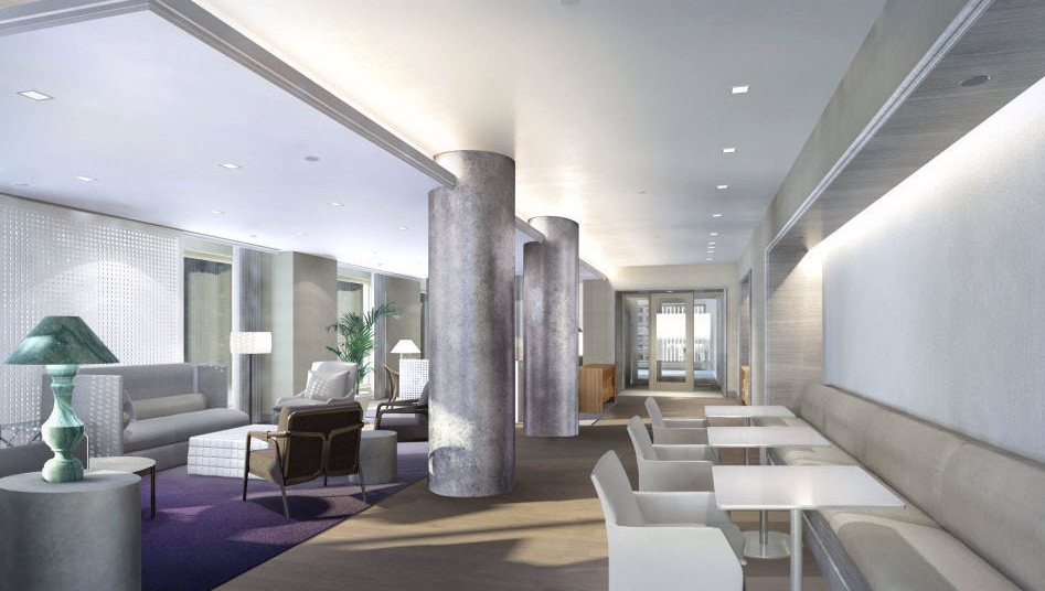 Lobby- Hawthorn Park- NYC condo for rent