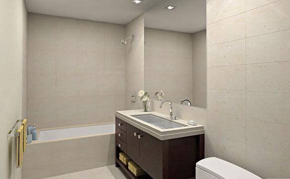 1600 Broadway Bathroom - Condos for Rent