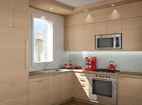 1600 Broadway Kitchen - NYC Condos