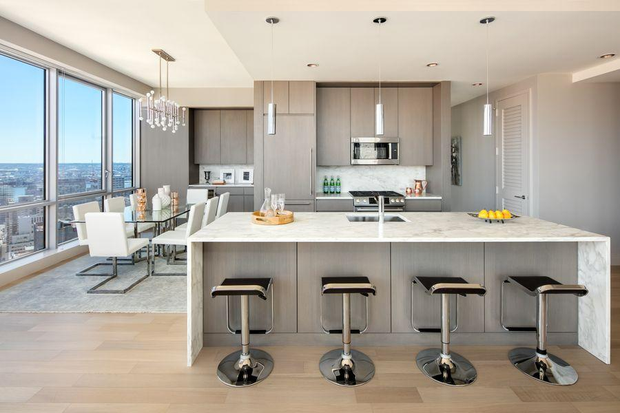 Open Kitchen at 160 Madison Avenue in Manhattan  - Apartments for rent
