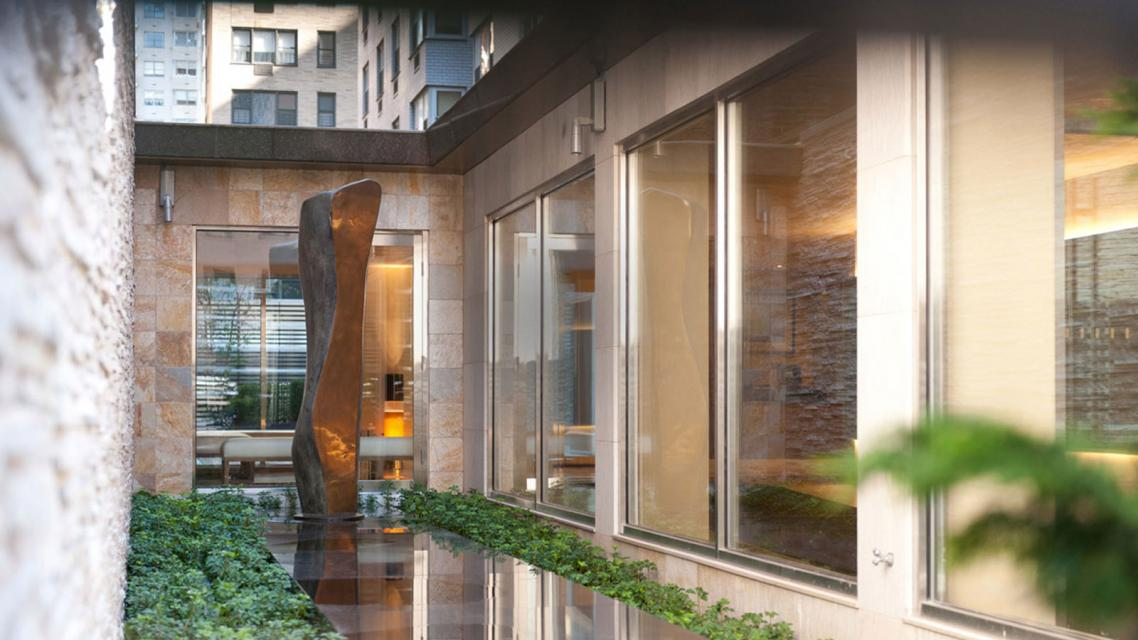 Courtyard at 165 East 66th Street in NYC - Apartments for rent