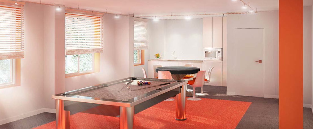 Wide variety of amenities at AMSTRDM - Billiard
