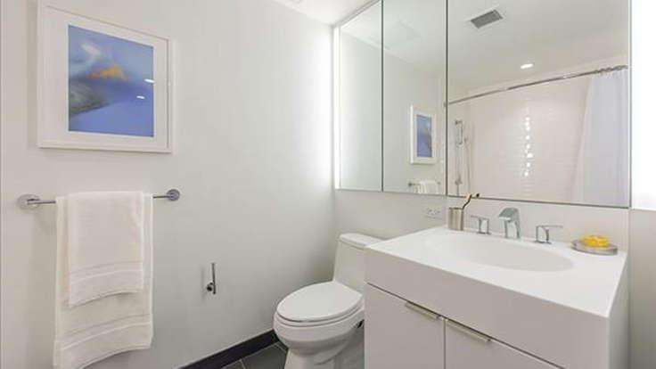 Bathroom at 170 Amsterdam Avenue in NYC