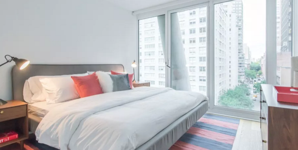 Condos for rent at 170 Amsterdam Avenue in Lincoln Square - Bedroom