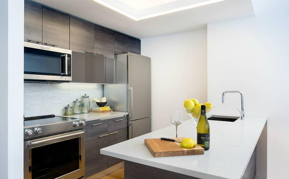 Kitchen at 172 Montague Street in NYC - Condos for rent