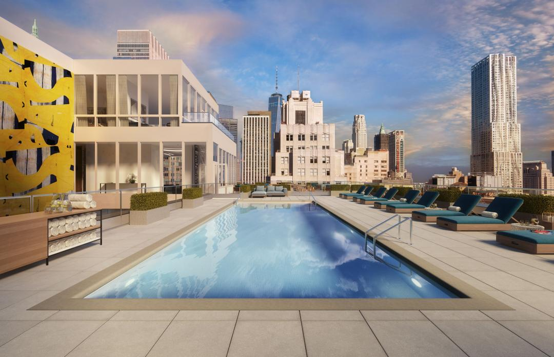 Rentals at 180 Water Street in Financial District - Pool