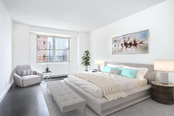 The Bedroom at 185 East 85th Street
