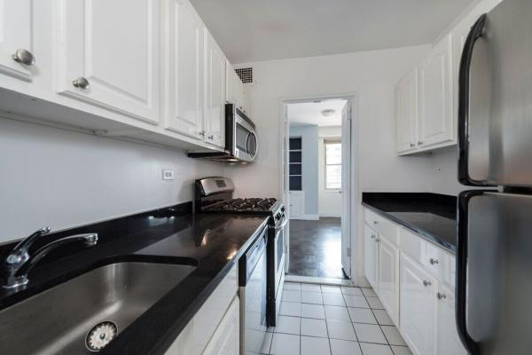 Fully equipped kitchen at 185 East 85th