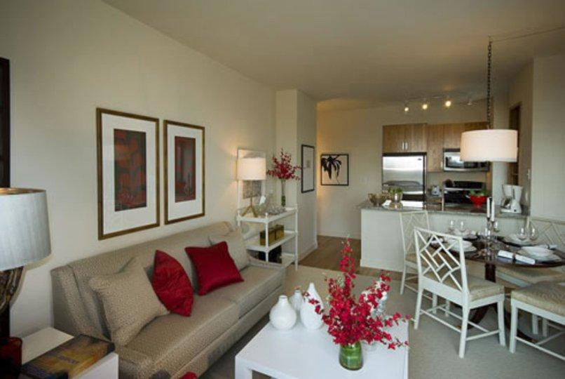 The Ludlow  Sitting Area - Manhattan Apartments for rent