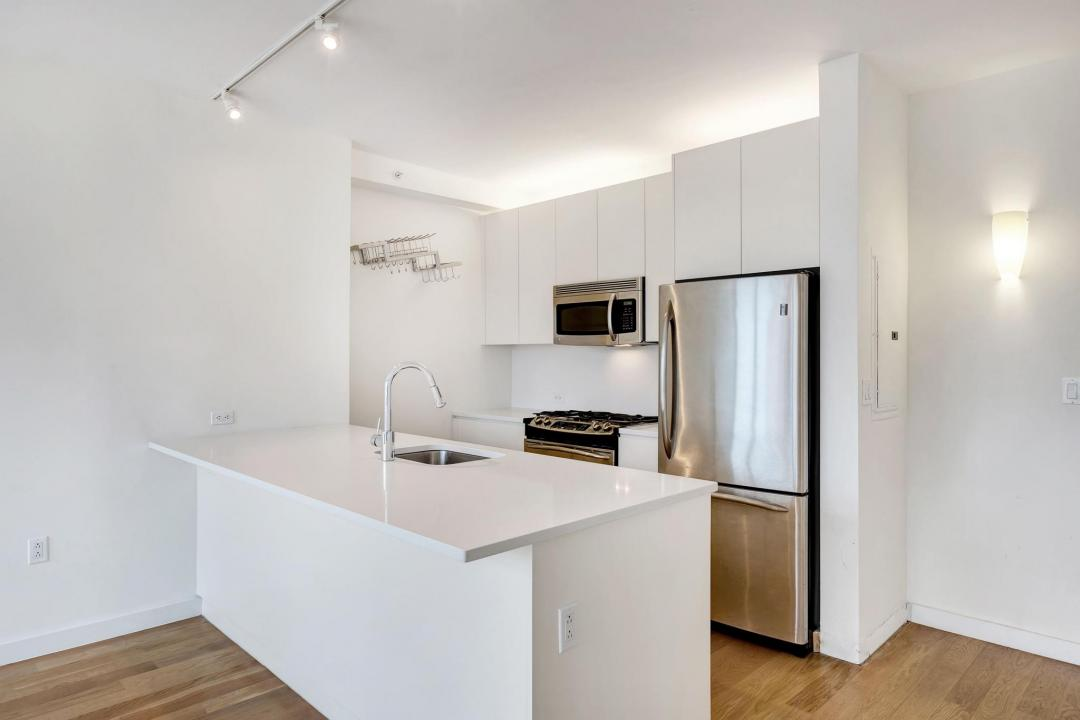 Kitchen Area at 189 Schermerhorn Condominiums- Brooklyn Condos for Rent