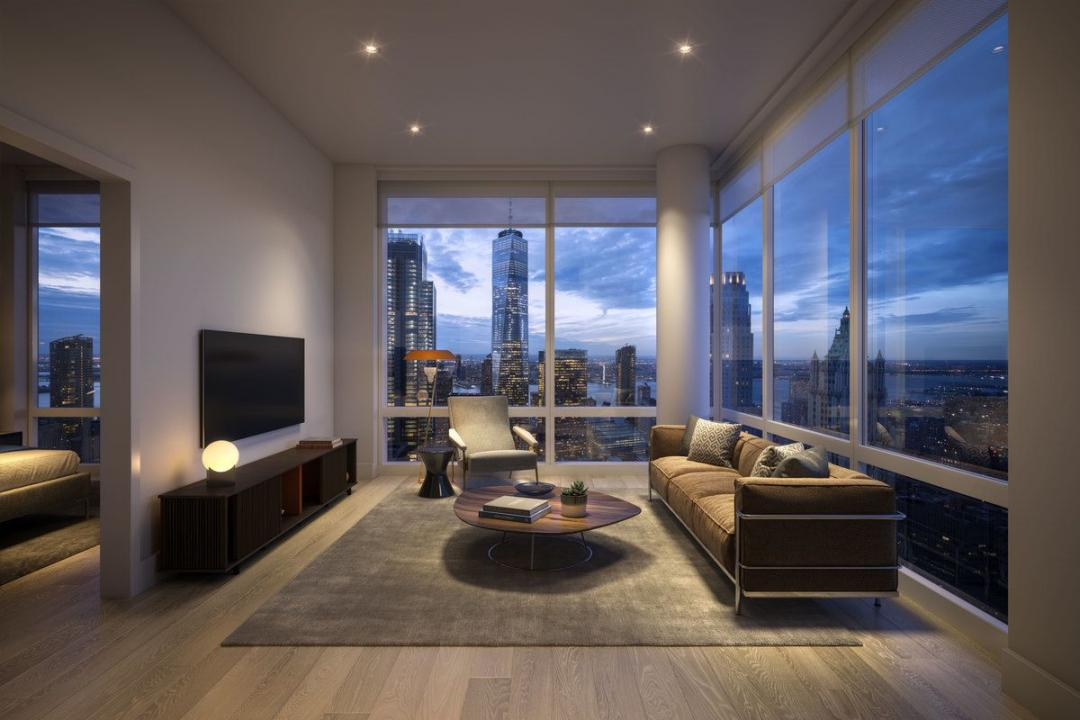 19 Dutch Street Apartment Living Room