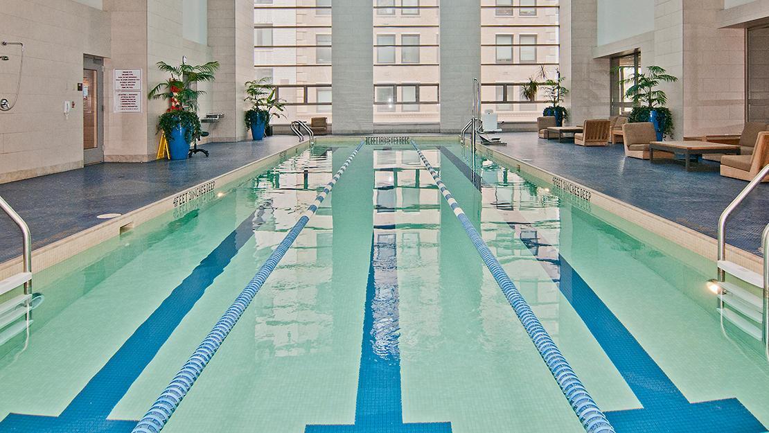 2 Gold Street Lap Pool - Financial District Rental Apartments