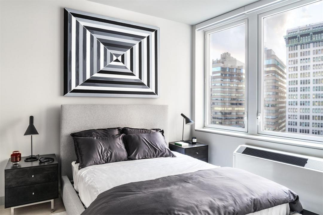 Bedroom at 20 Broad Street- Apartments for rent in NYC