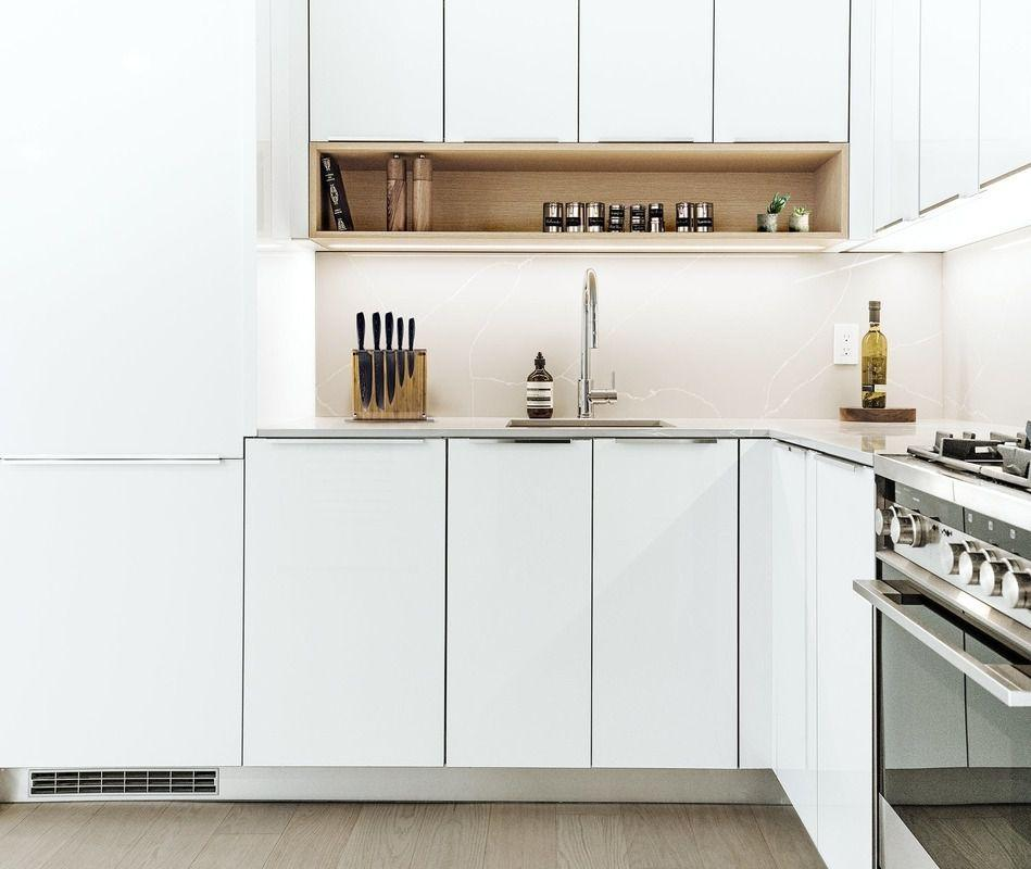 Kitchen at 20 Broad Street- Apartments for rent in NYC