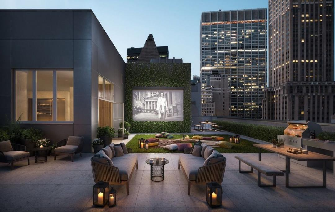 Rooftop at 20 Broad Street- Apartments for rent in NYC