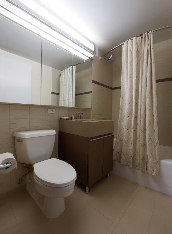 Bathroom at Le Rivage in Manhattan - Apartments for rent