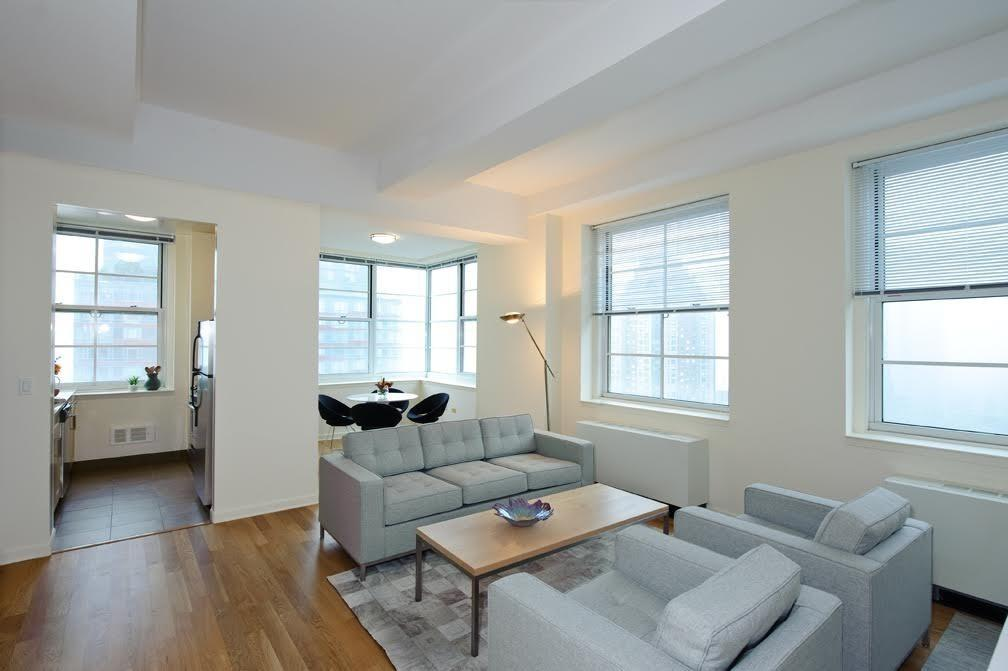 Livingroom at Le Rivage in Financial District - Apartments for rent