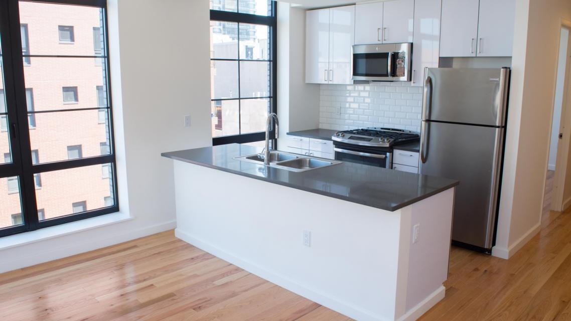 Kitchen at 2211 Third Avenue in East Harlem - Apartments for rent