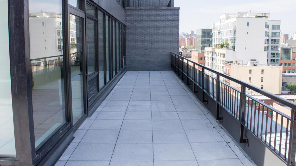 Apartments for rent at 2211 Third Avenue in NYC - Terrace