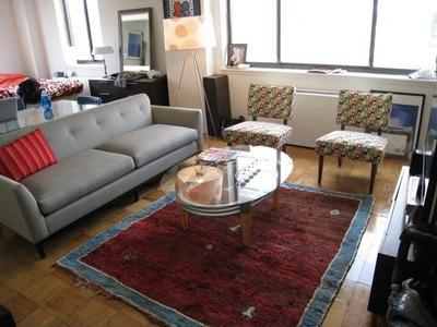 Living Room at 227 Mulberry Street - Luxury Rentals Manhattan