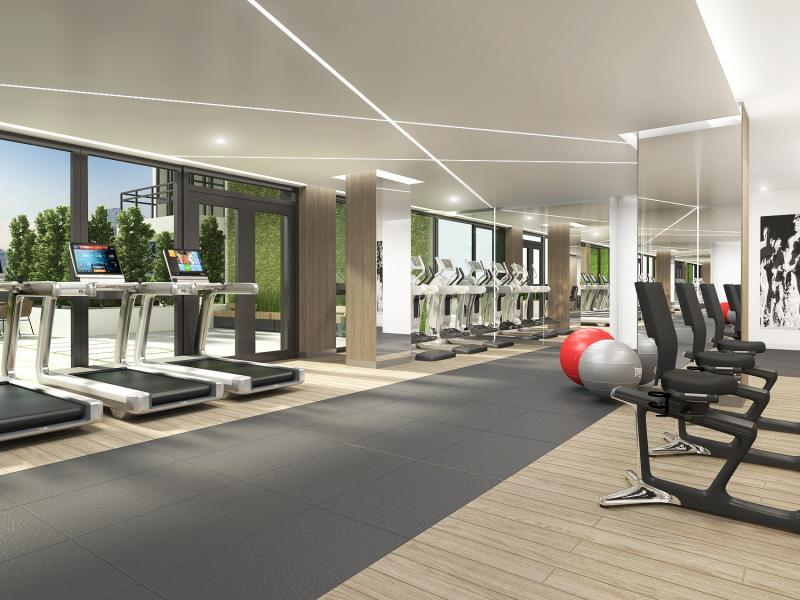 Fitness Center at 24-12 42nd Road in Long Island City - Apartments for rent