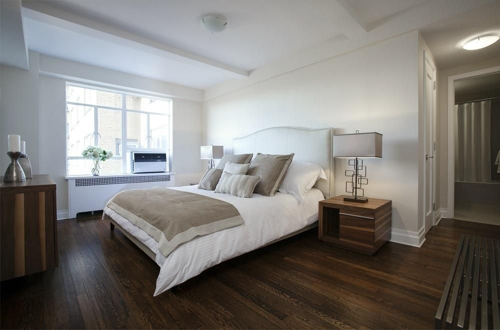 Bedroom at 240 Central Park South in Manhattan