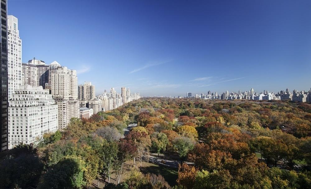 Open Views from 240 Central Park South in Manhattan