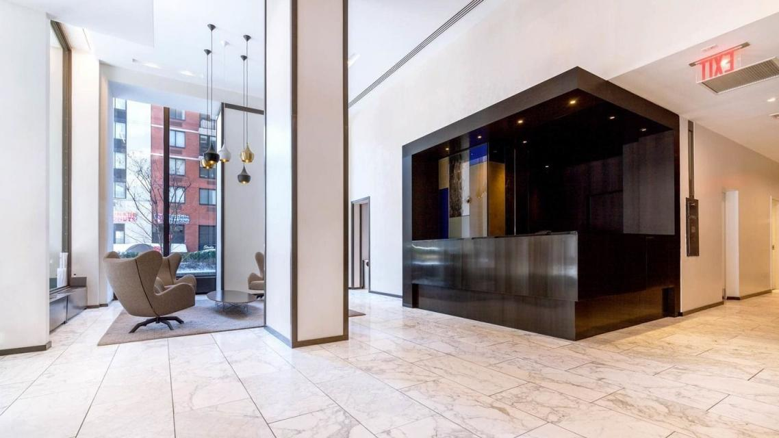 245 East 40th Street Lobby - Murray Hill Rental Apartments