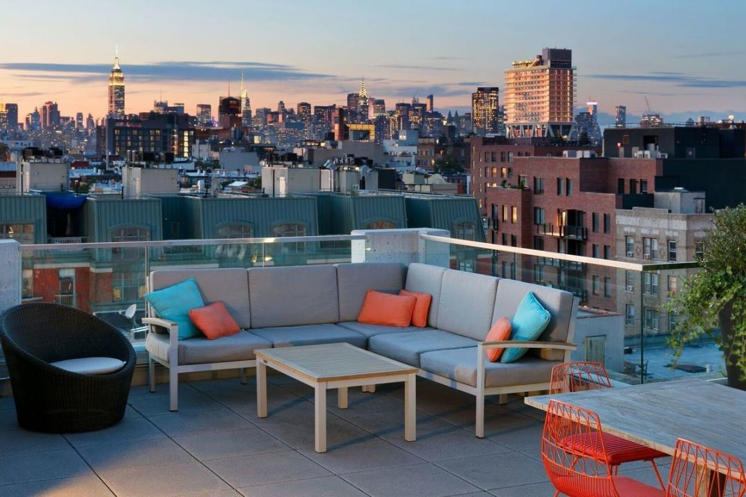 View & Rooftop Deck at 247N7