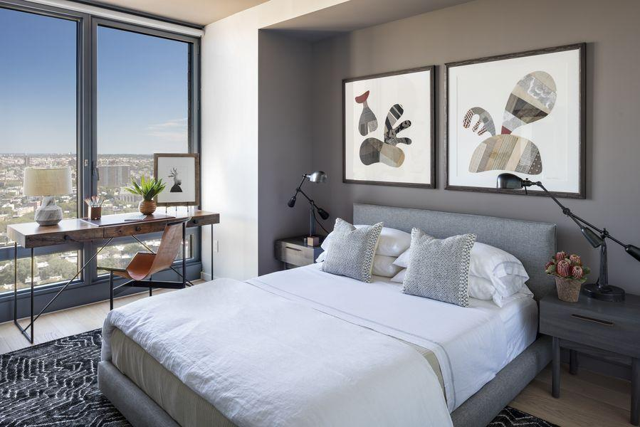 Bedroom at 250 Ashland Place in NYC - Apartments for rent